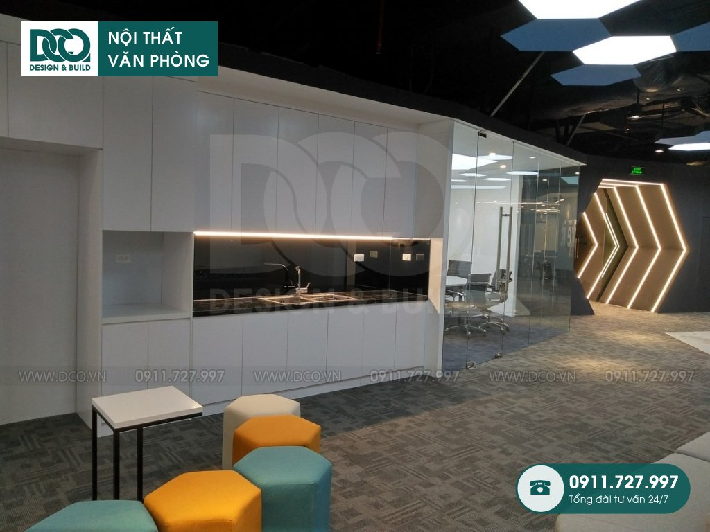 Thi công nội thất Coworking Space cao cấp