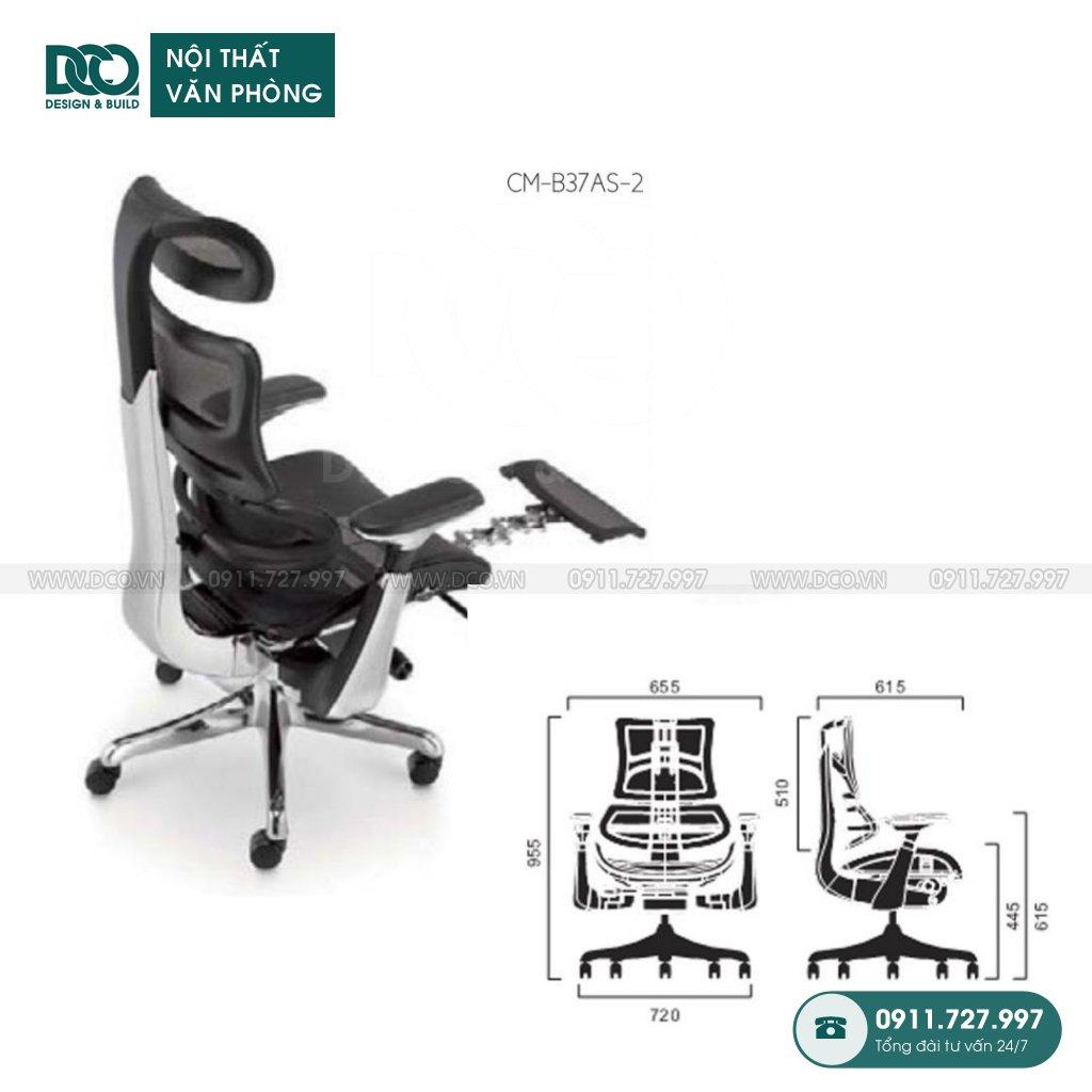 Ghế văn phòng B37 giá rẻ