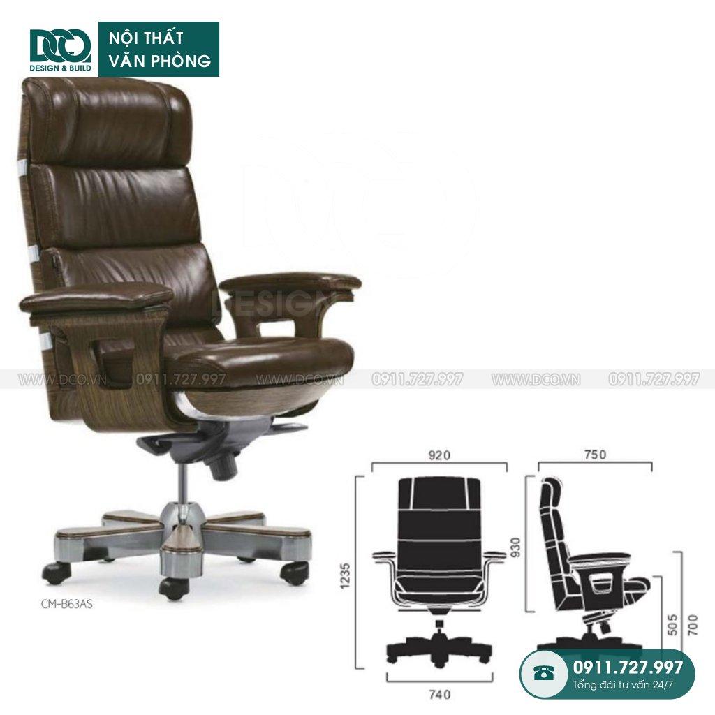 Báo giá ghế văn phòngB63