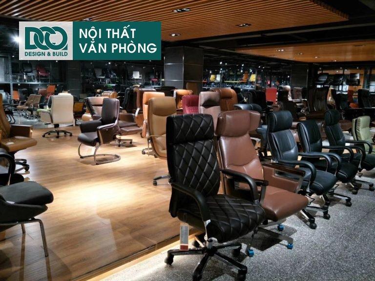 Showroom ghế văn phòng B63