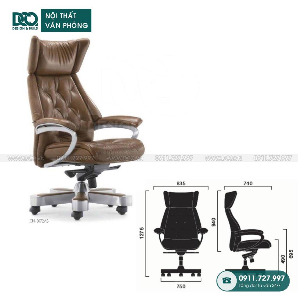 Bảng báo giá ghế văn phòng B172