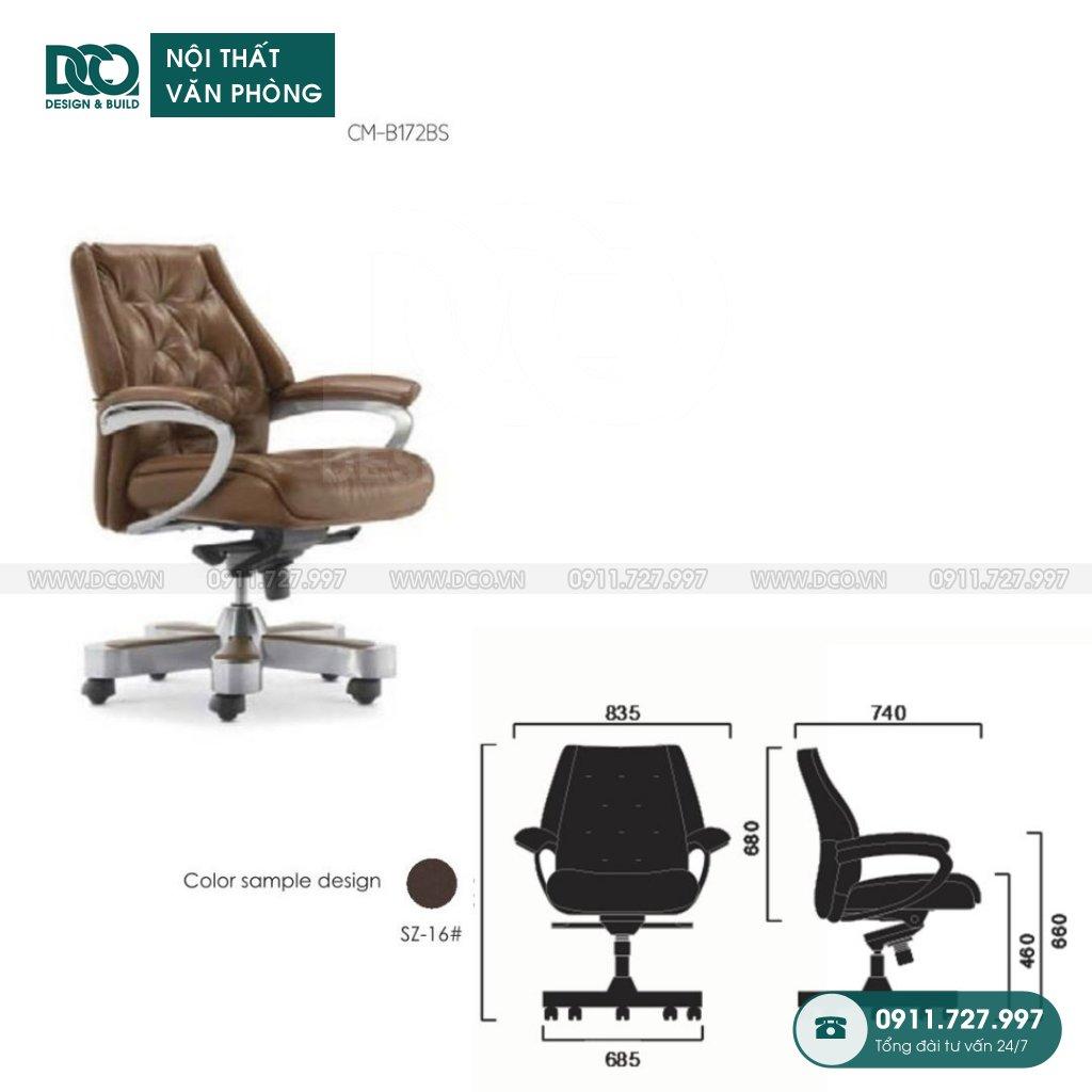 Ghế văn phòng B172 giá rẻ