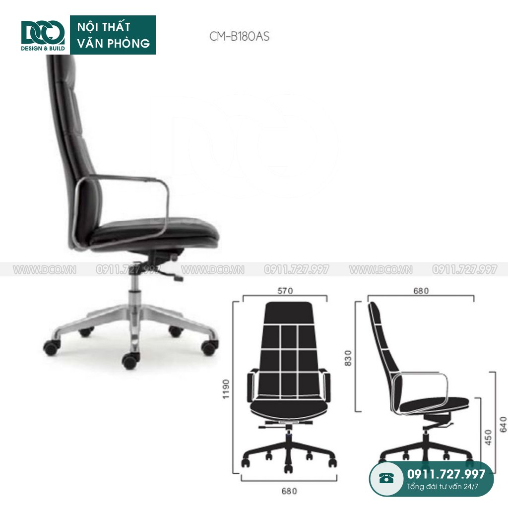 Báo giá ghế văn phòngB180