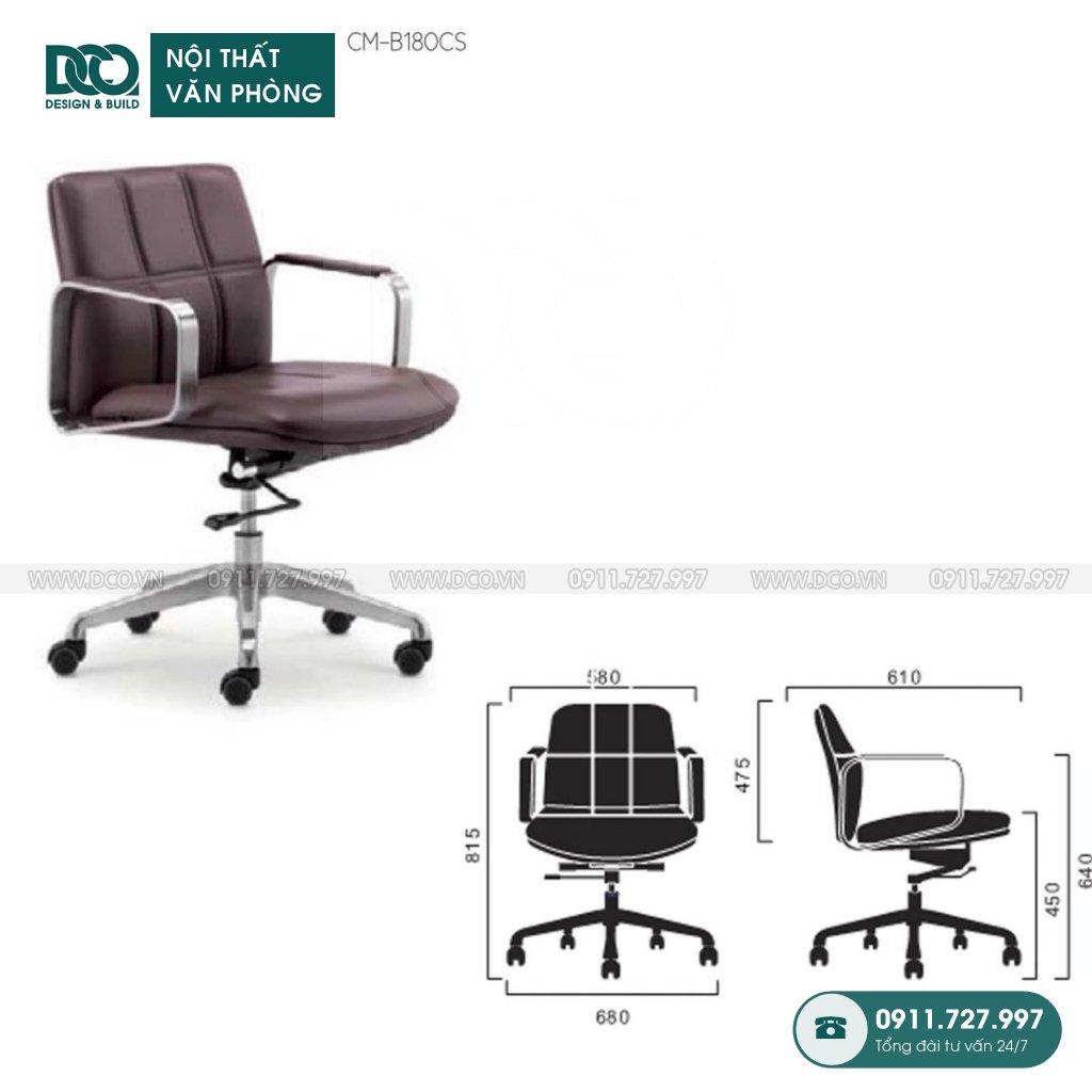 Ghế văn phòng B180 giá rẻ