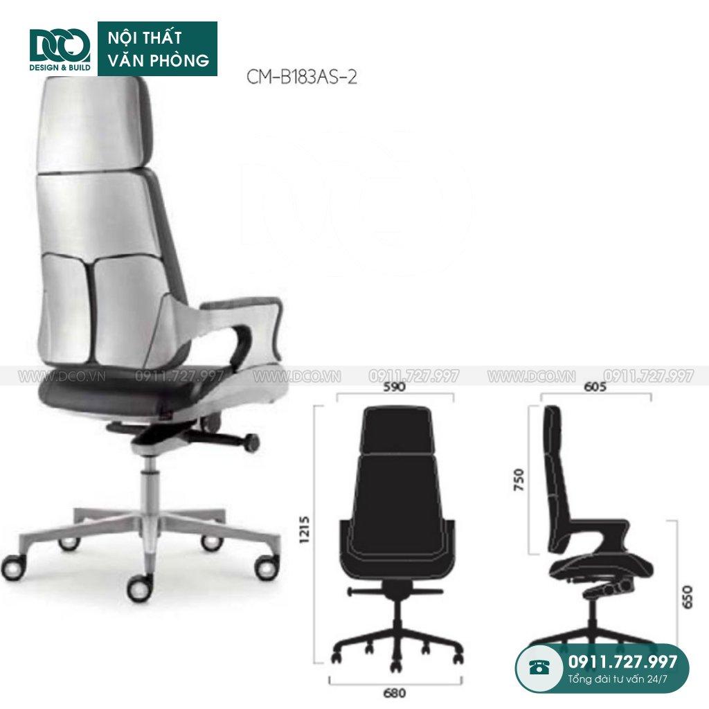 Showroom ghế văn phòng B183