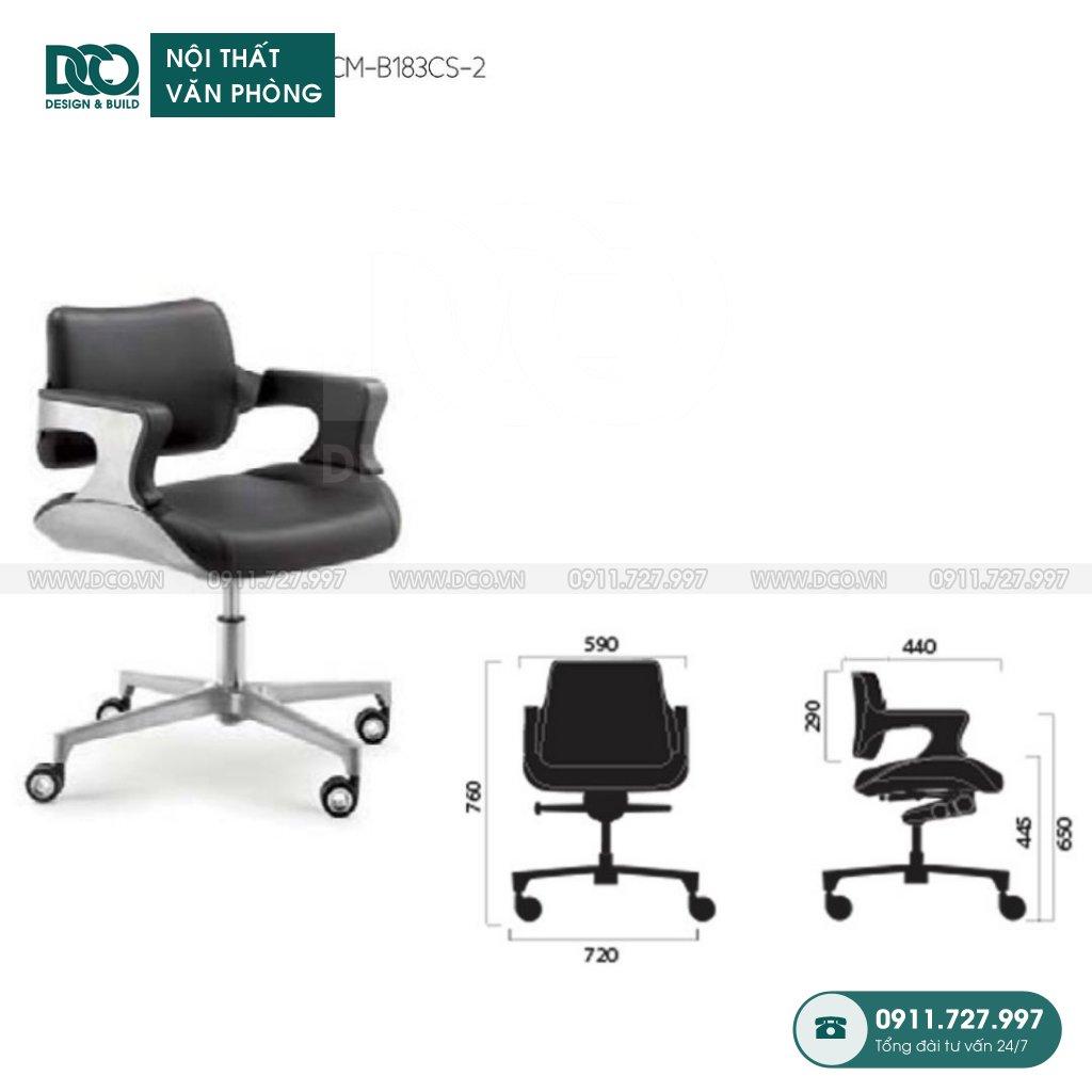 Ghế văn phòng B183 giá rẻ
