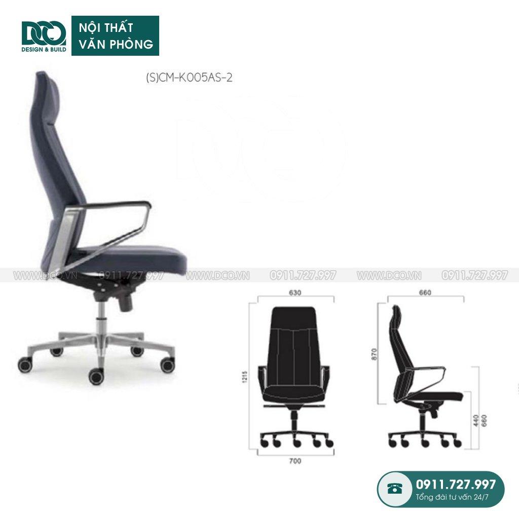 Bảng báo giá ghế văn phòng K005