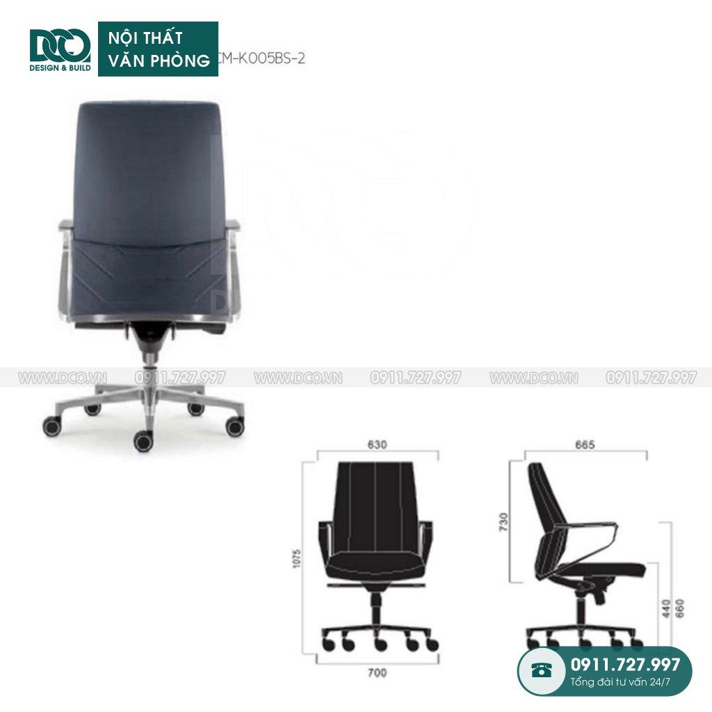Báo giá ghế văn phòng K005