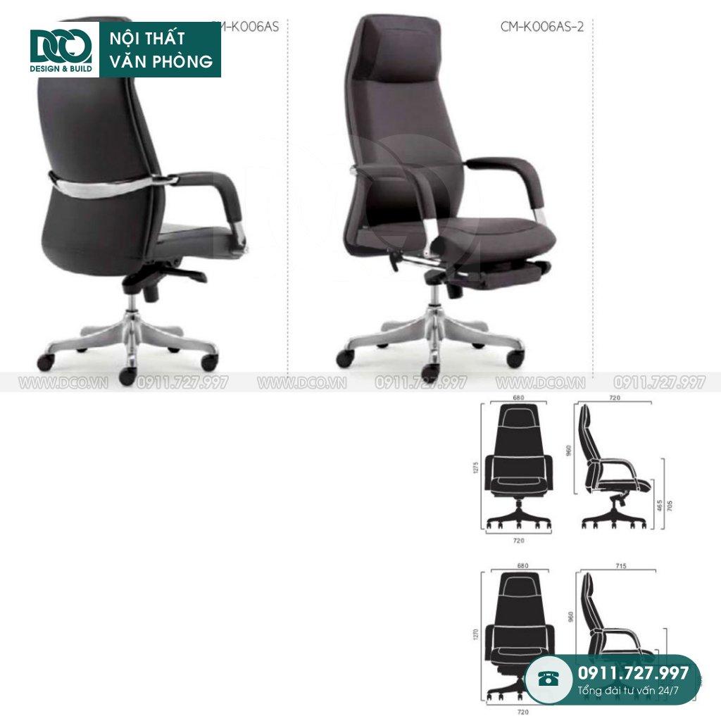 Báo giá ghế văn phòngK006