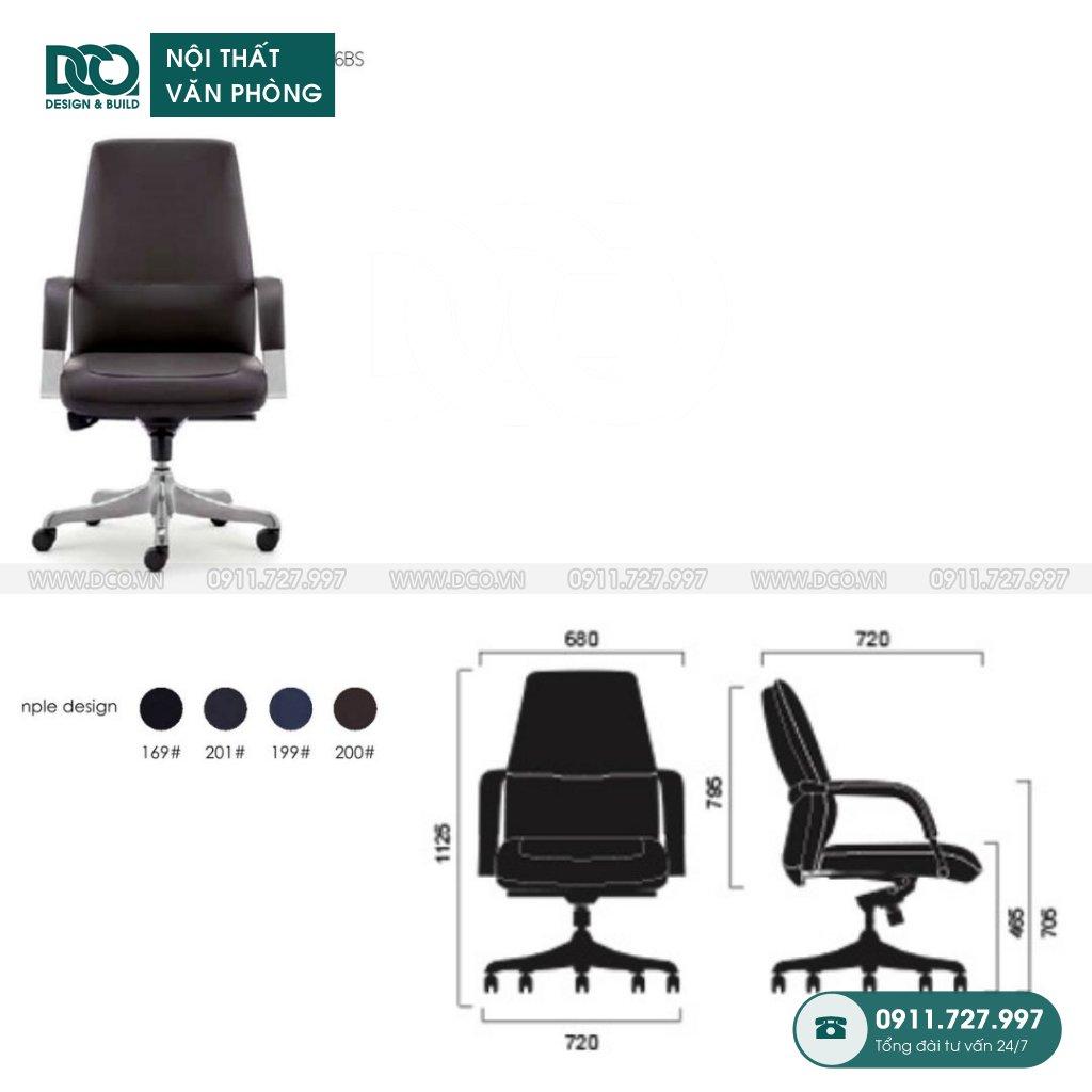 Bảng báo giá ghế văn phòng K006