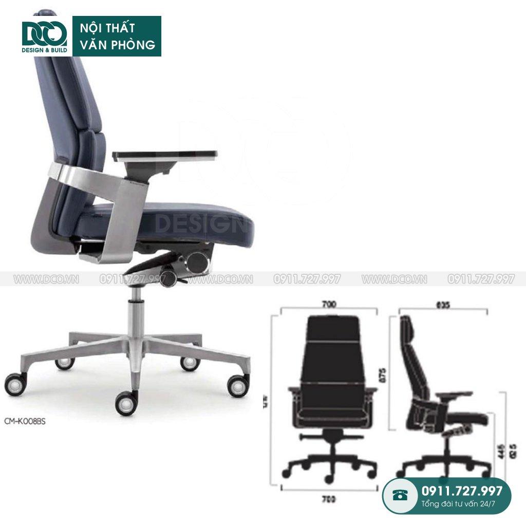 Báo giá ghế văn phòngK008