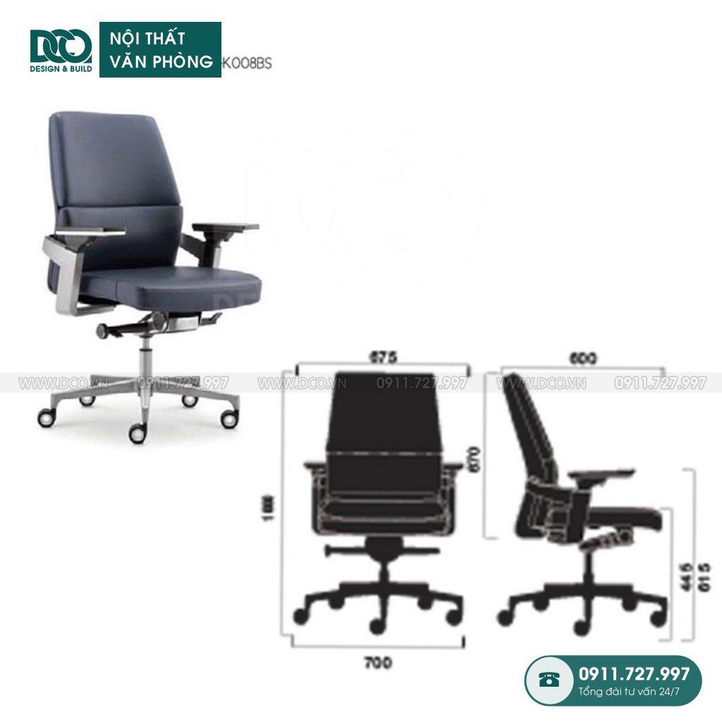 Ghế văn phòng K008 cao cấp