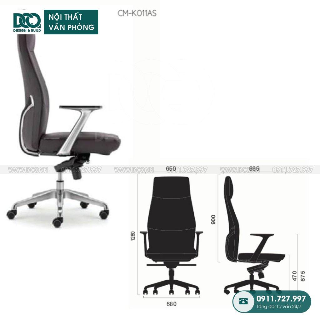 Bảng báo giá ghế văn phòng K011