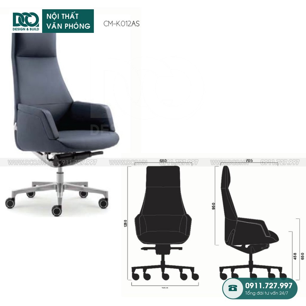 Ghế văn phòng K012 cao cấp