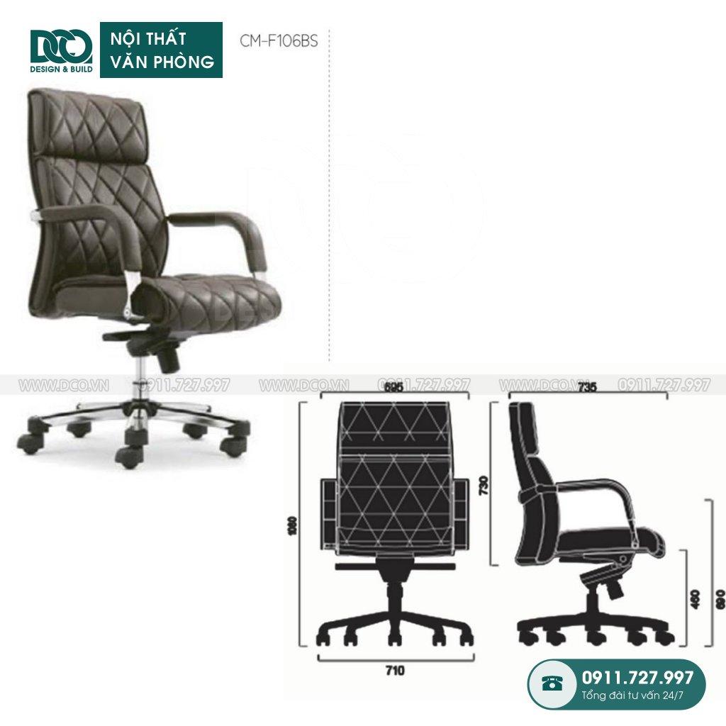 Ghế văn phòng F106 cao cấp