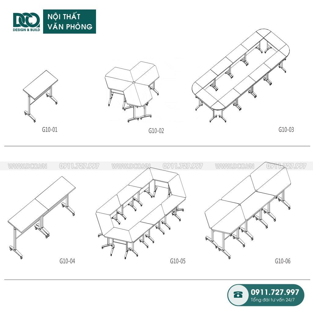Cách lắp đặt bàn G10