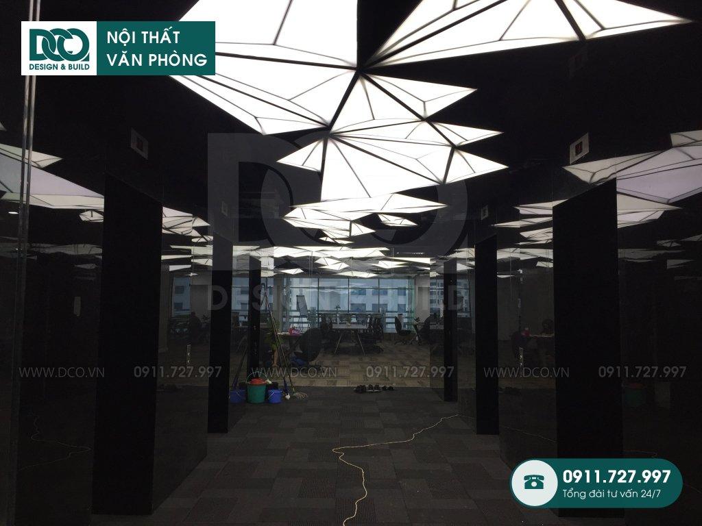 Cải tạo nội thất reception tại TP.HCM