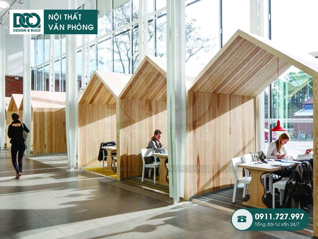 Sản xuất đồ gỗ nội thất văn phòng tại Hoàng Văn Thụ