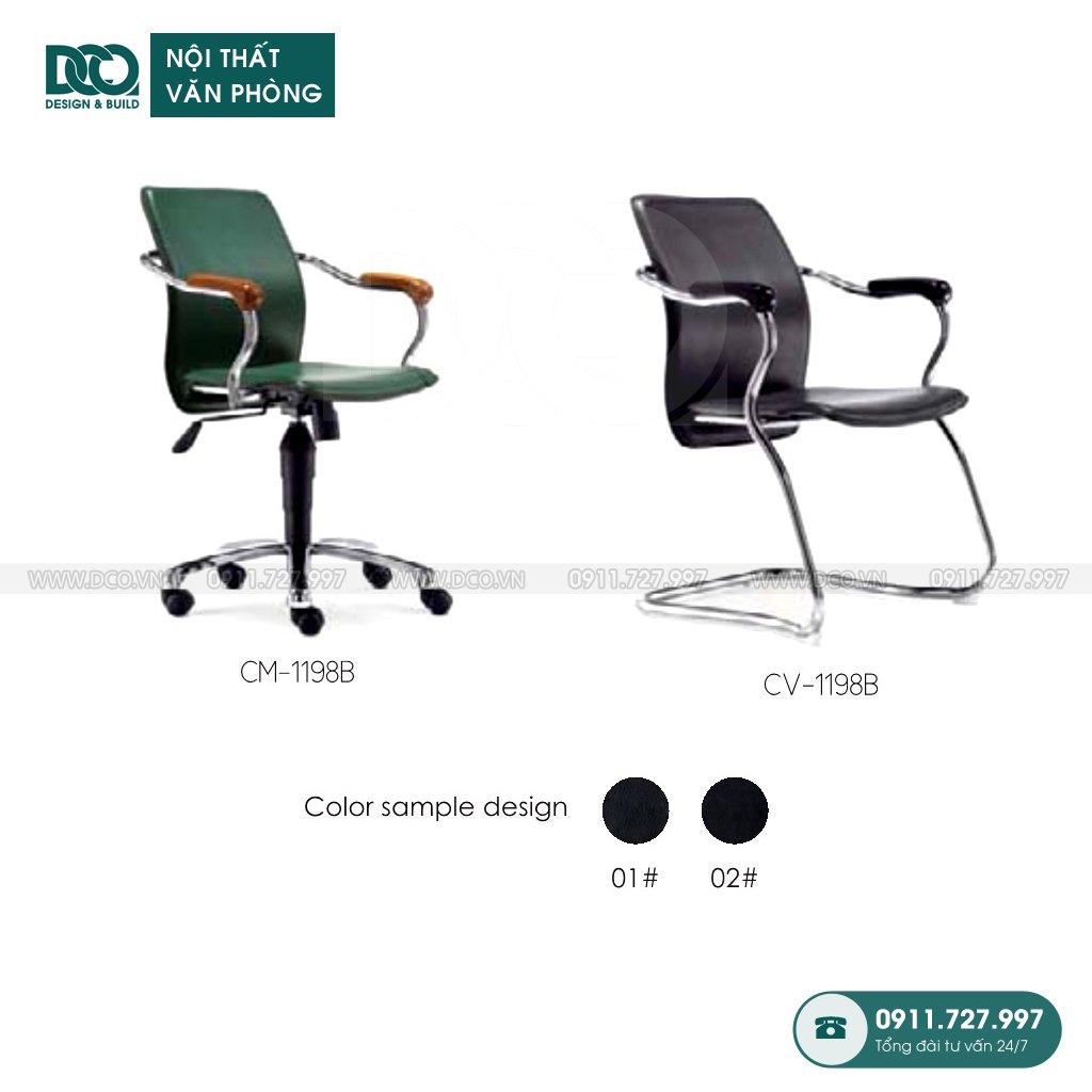 Bảng báo giá ghế văn phòng 1198