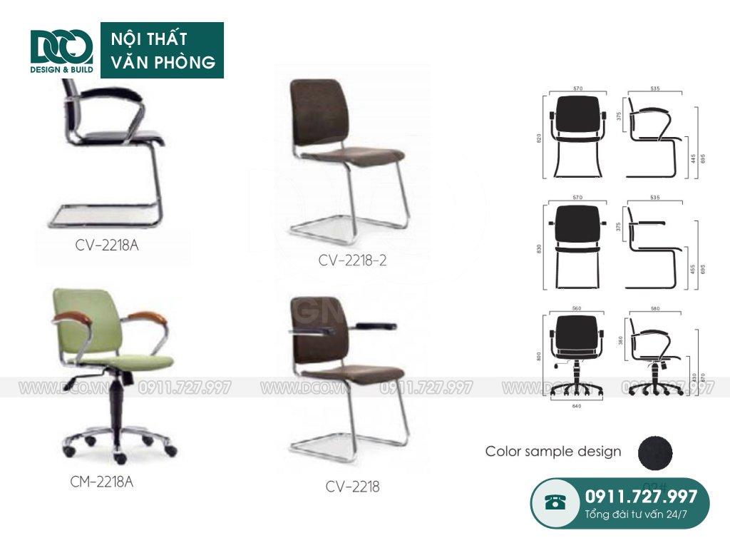 Ghế văn phòng 2218 giá rẻ