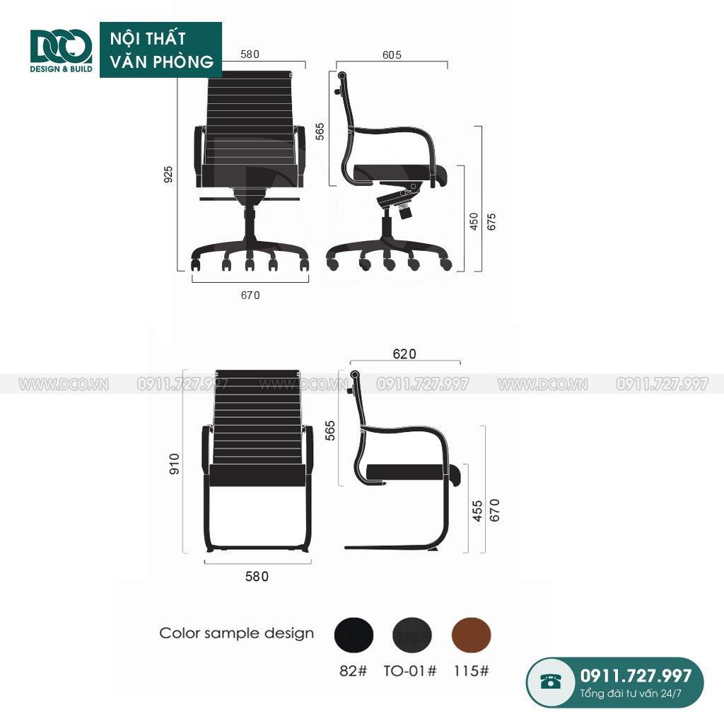 Ghế văn phòng B06 giá rẻ