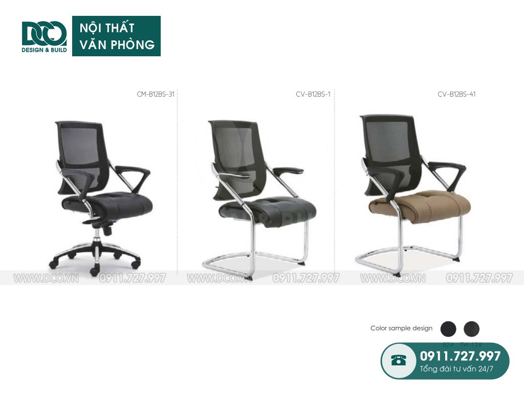 Showroom ghế văn phòng B12