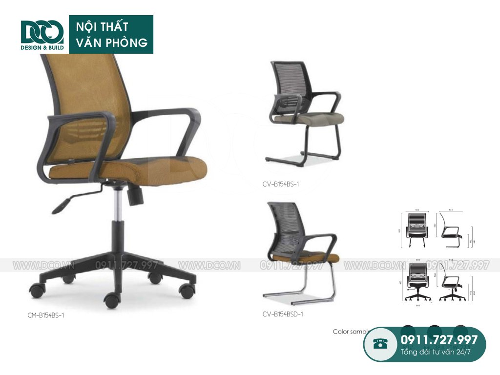 Ghế văn phòng B154 cao cấp