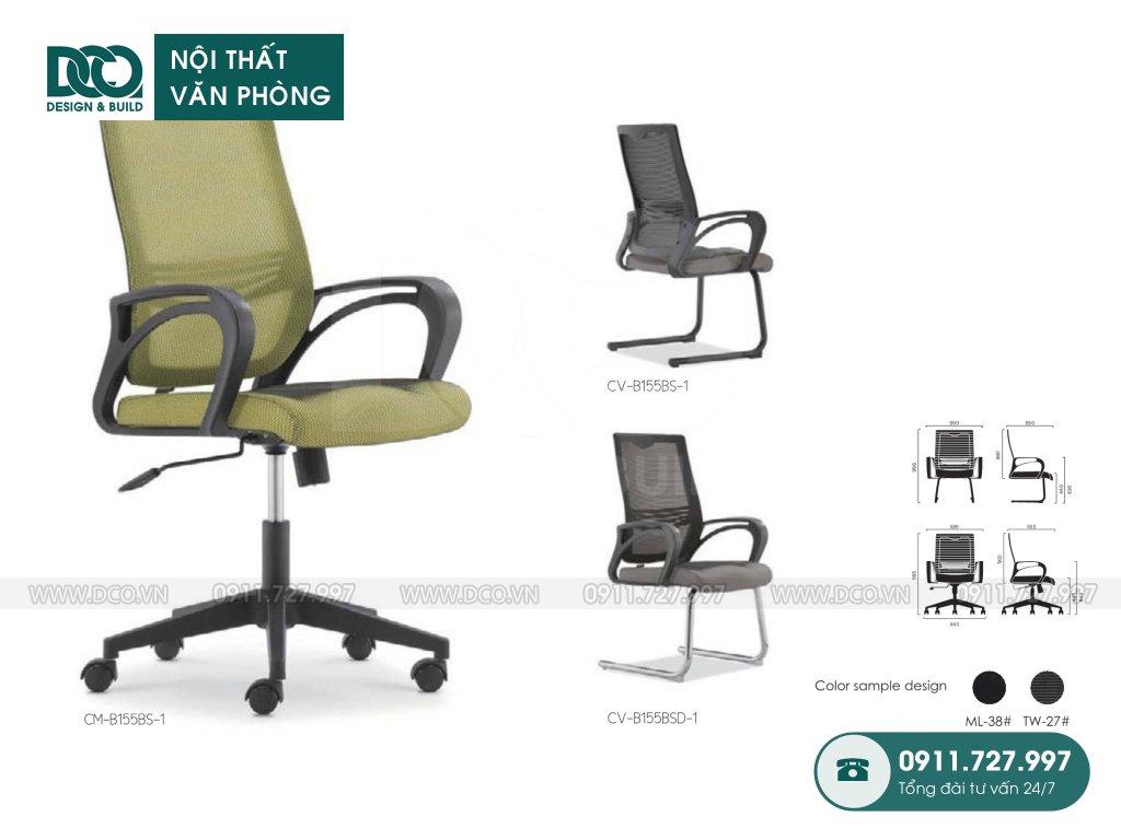 Báo giá ghế văn phòng B155