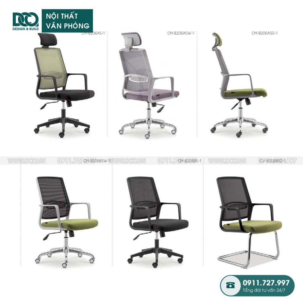 Báo giá ghế văn phòng B206