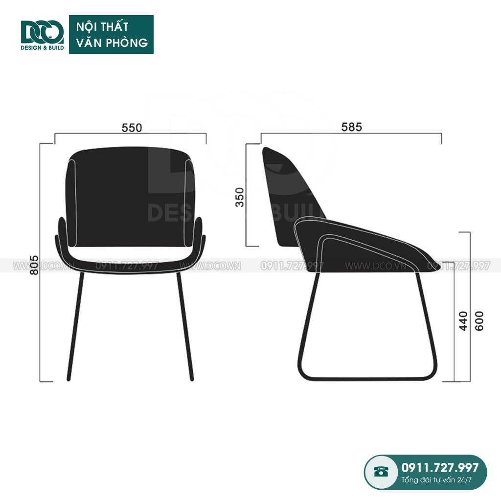 Ghế văn phòng B230 giá rẻ