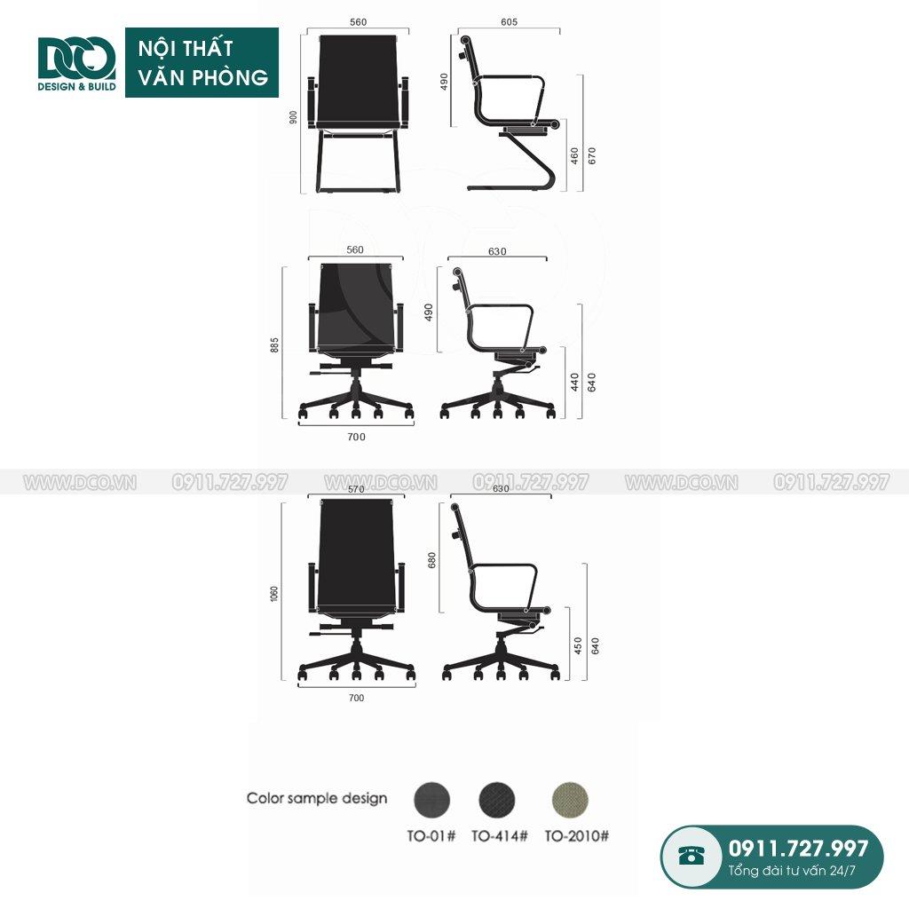 Ghế văn phòng F10 giá rẻ