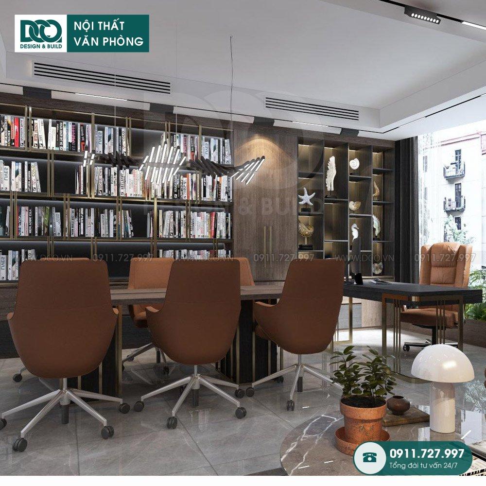 Hồ sơ bản vẽ mẫu nội thất văn phòng phó tổng giám đốc