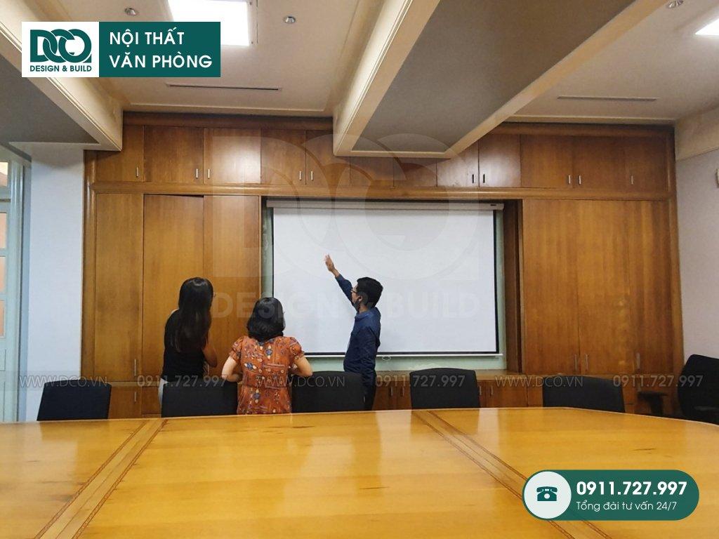 Báo giá thi công nội thất khu hội thảo