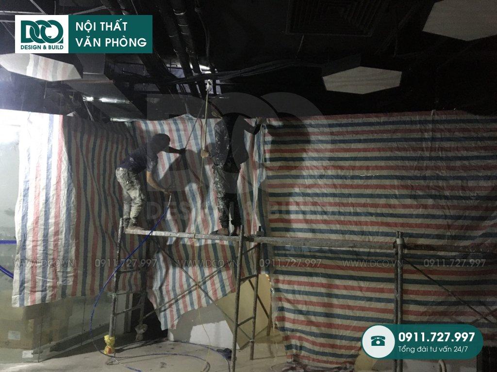 Thi công nội thất khu sự kiện tại Hà Nội