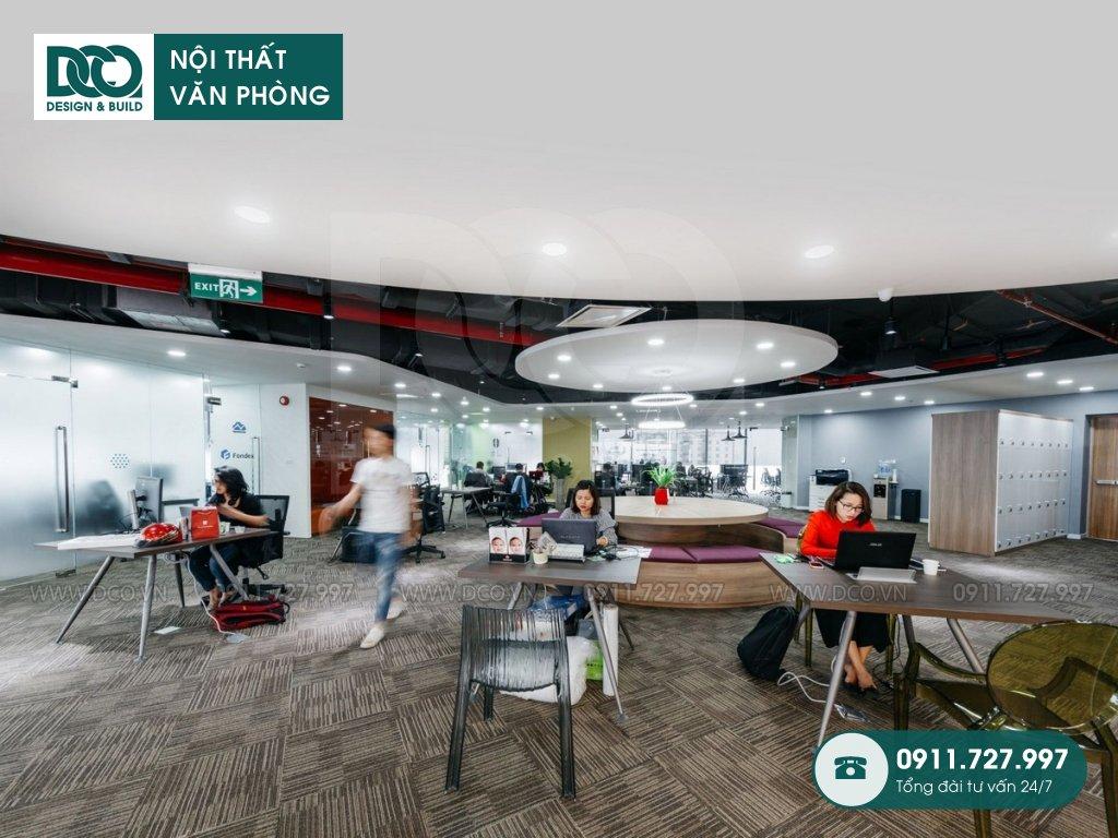 Thi công văn phòng trọn gói tại Tân Quy