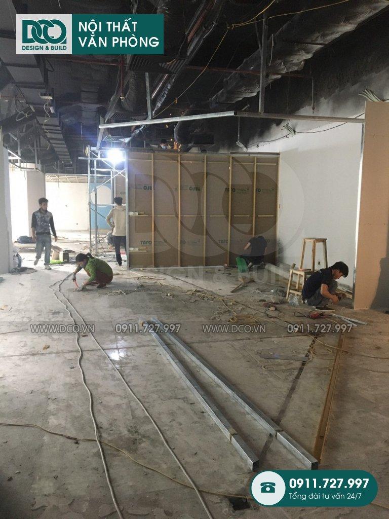 Hồ sơ bản vẽ sửa chữa nội thất Coworking Space