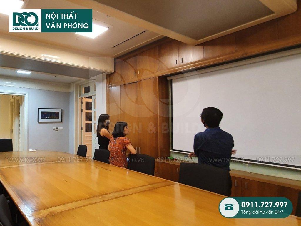 Nội thất phòng họp sau thi công mẫu 1 (3)