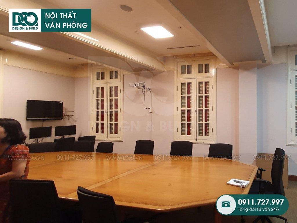 Chi phí thi công nội thất phòng họp tại TP. HCM