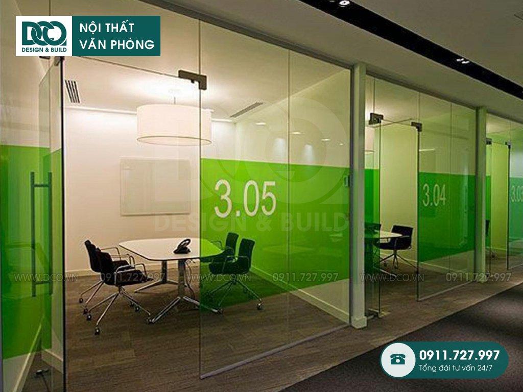 Nội thất văn phòng tối giản siêu tiết kiệm chi phí