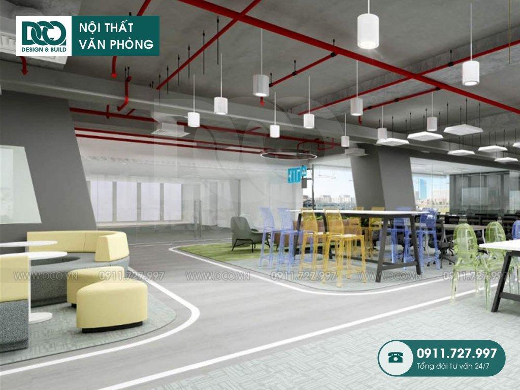4 điểm nhấn sáng tạo trong thiết kế nội thất văn phòng