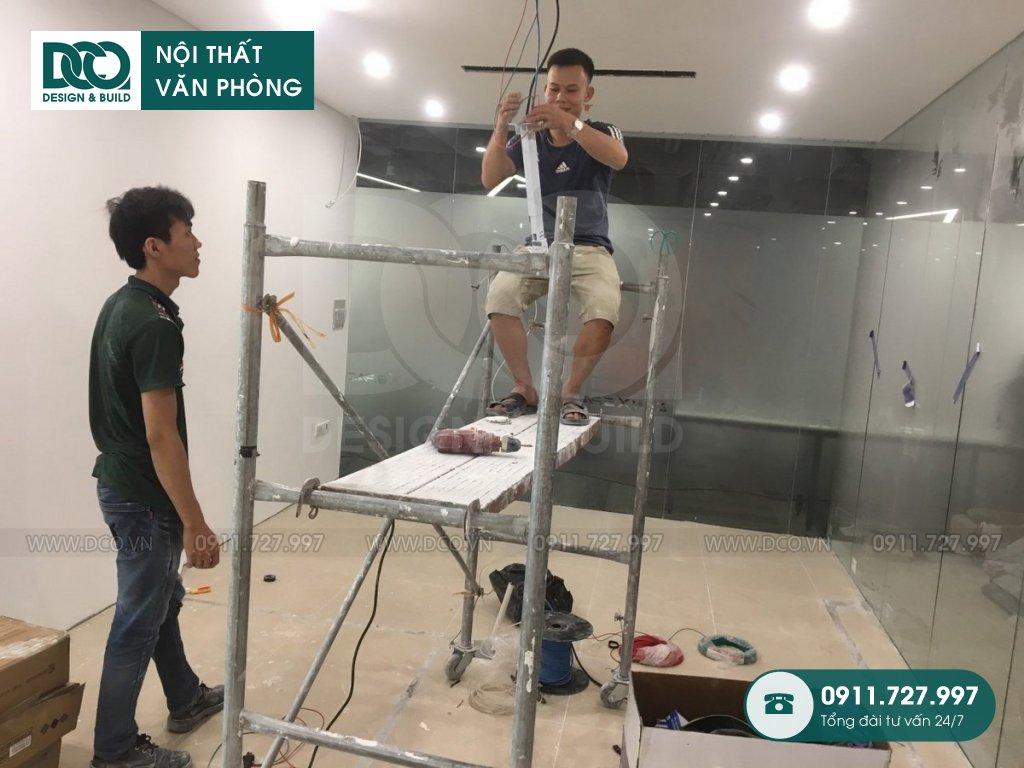 Báo giá thi công nội thất phòng nhân viên Hà Nội