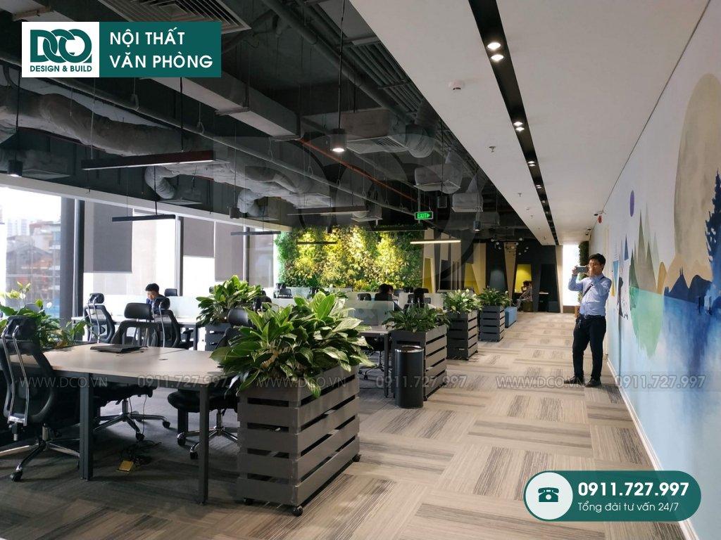 Nội thất Coworking Space sau cải tạo (1)