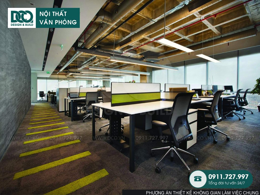 Nội thất Coworking Space sau cải tạo (4)