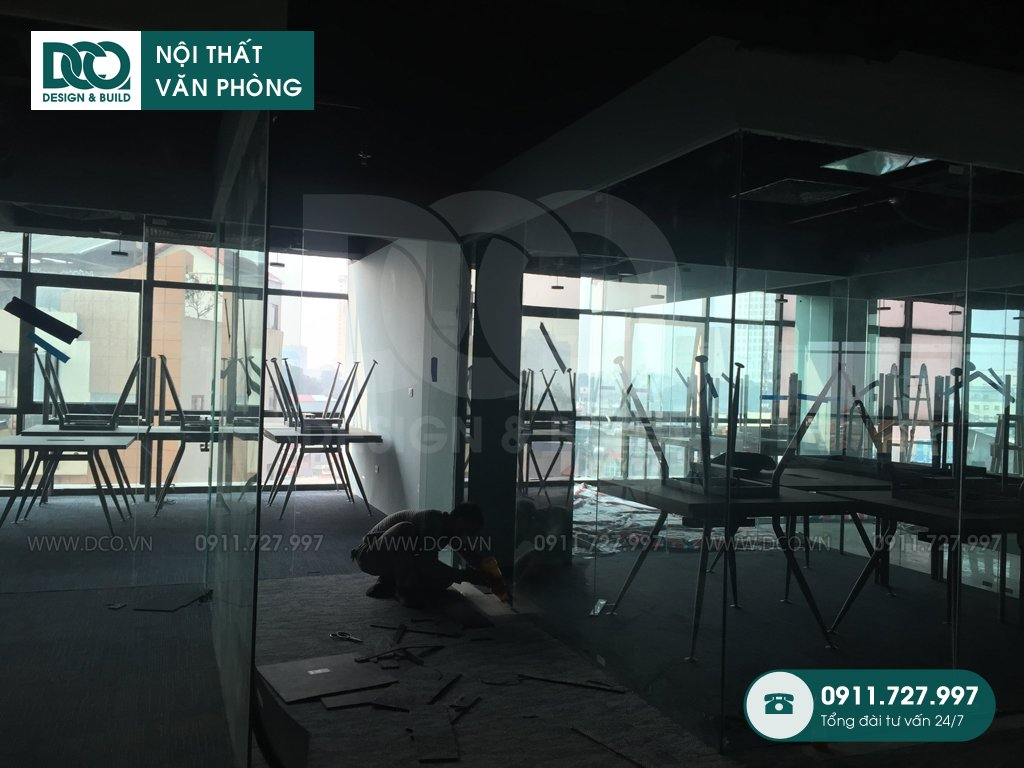 Sản xuất đồ gỗ nội thất văn phòng tại Phú Trung