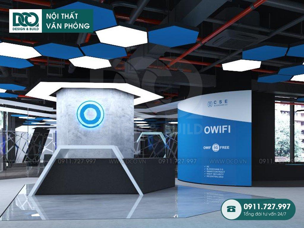Sản xuất đồ nội thất văn phòng Quỳnh Mai