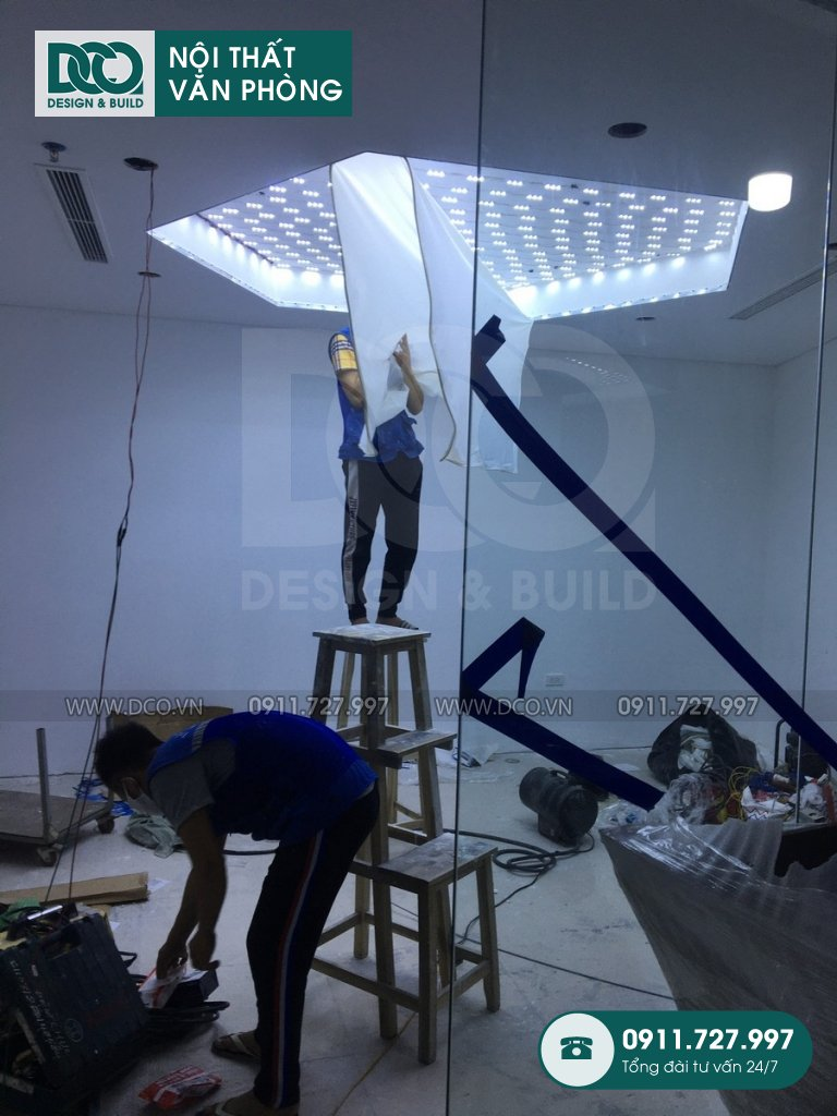 Đơn giá sửa chữa nội thất văn phòng tại Hà Nội