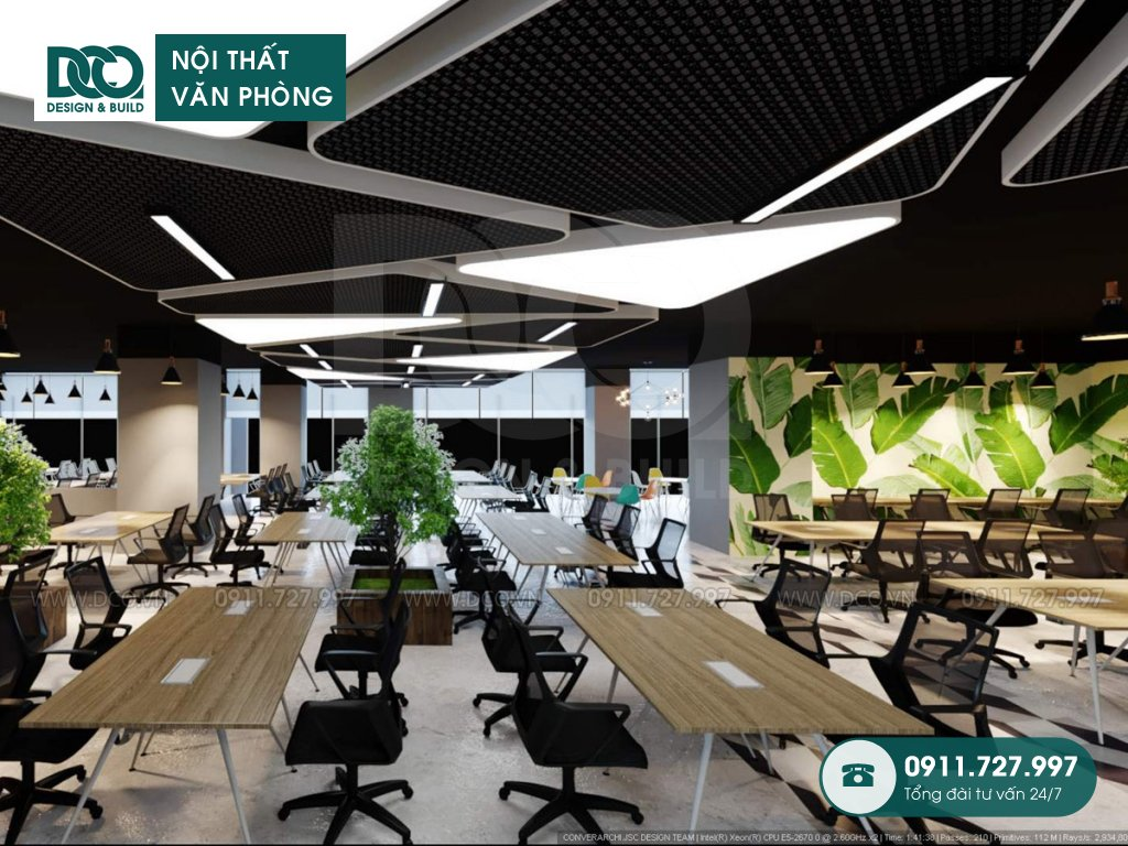 Thiết kế nội thất Coworking Space (7)