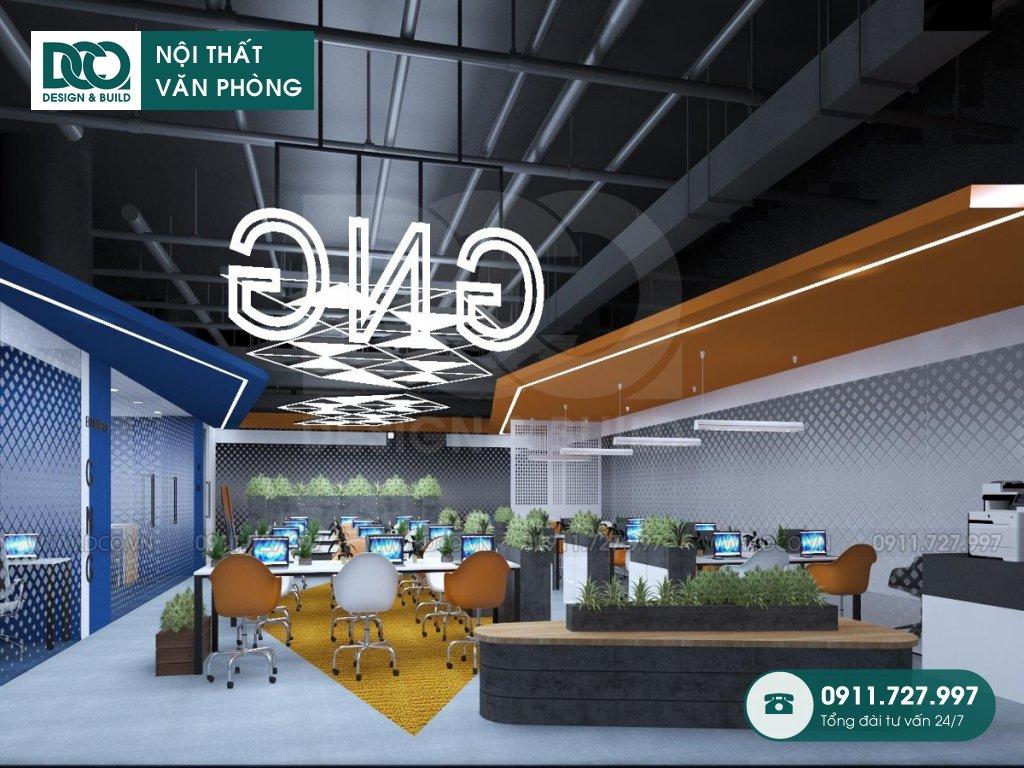 Dự toán thiết kế nội thất Coworking Space Hà Nội