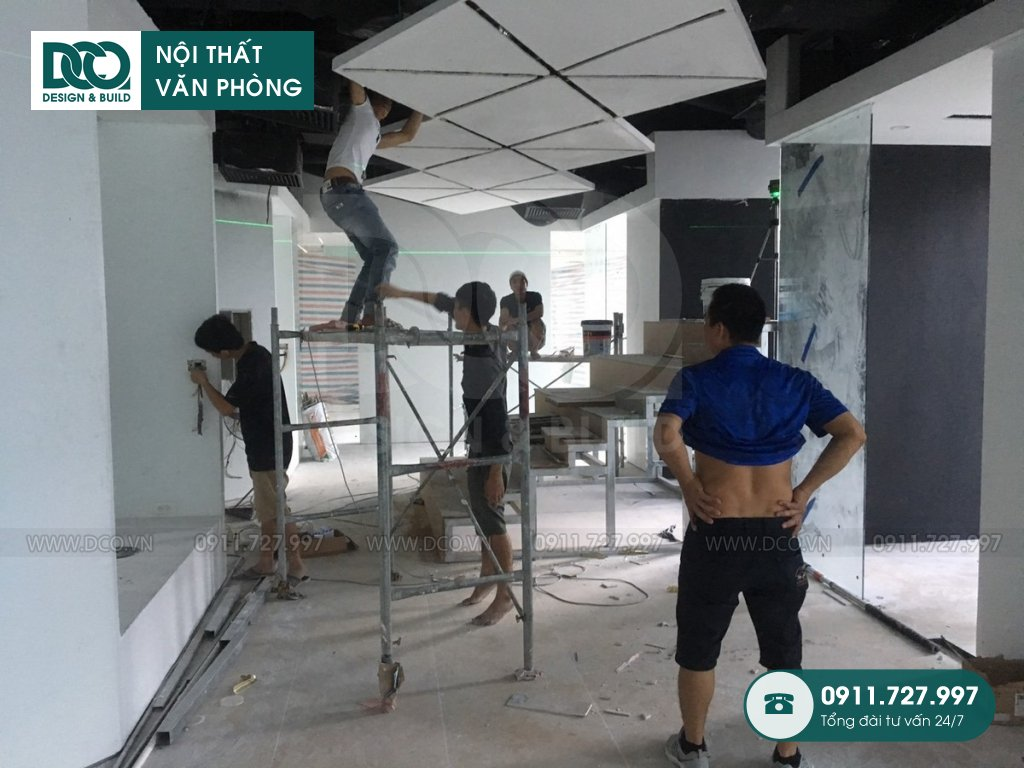 Hồ sơ cải tạo nội thất Coworking Space