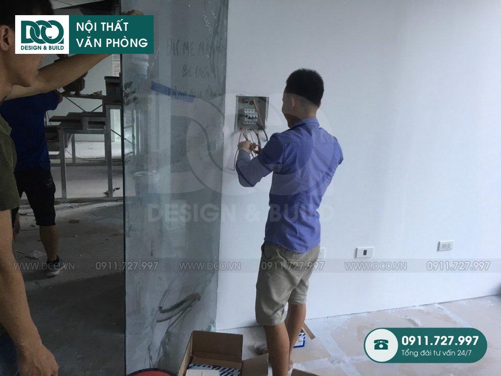 Sản xuất đồ gỗ nội thất văn phòng tại Đa Kao